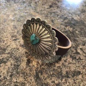 Richard Schmidt Concho Native American Bracelet